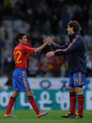 España vs Corea del Sur: partido amistoso internacional
