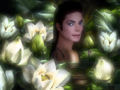 michael-jackson - Exotic Flower wallpaper