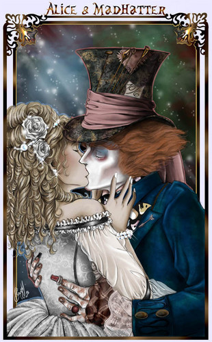 Fanfiction-Cover > Burtons Alice im Wunderland 2 // AliceXMadHatter