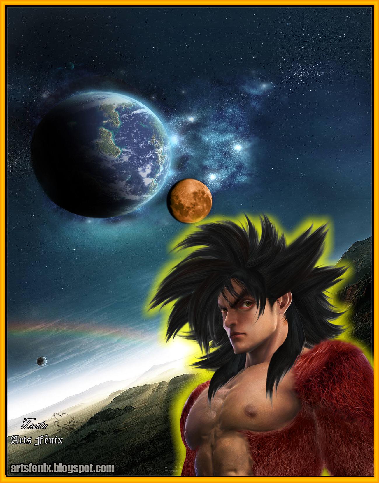 Dragon Ball z Wallpapers Vegeta Ssj4 Dragon Ball z Goku Real Ssj4