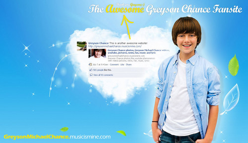 Greyson and the foto Shoots