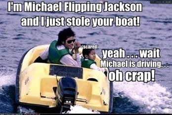 Hahahahaha, MJ estola a bangka ! xD