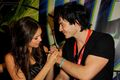 Ian &amp; Nina at Comic-Con - ian-somerhalder-and-nina-dobrev photo
