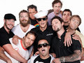 Jackass 3D Cast Portrait @ Comic Con 2010