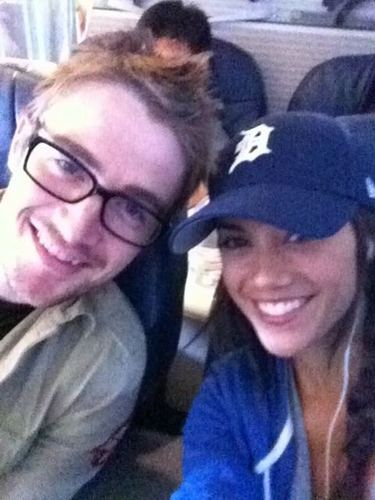 Jana Kramer and Robert Buckley Take Flight
