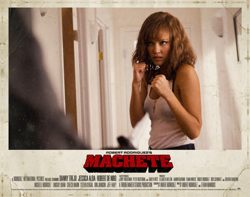 jessica alba machete wallpaper. Jessica Alba as Sartana
