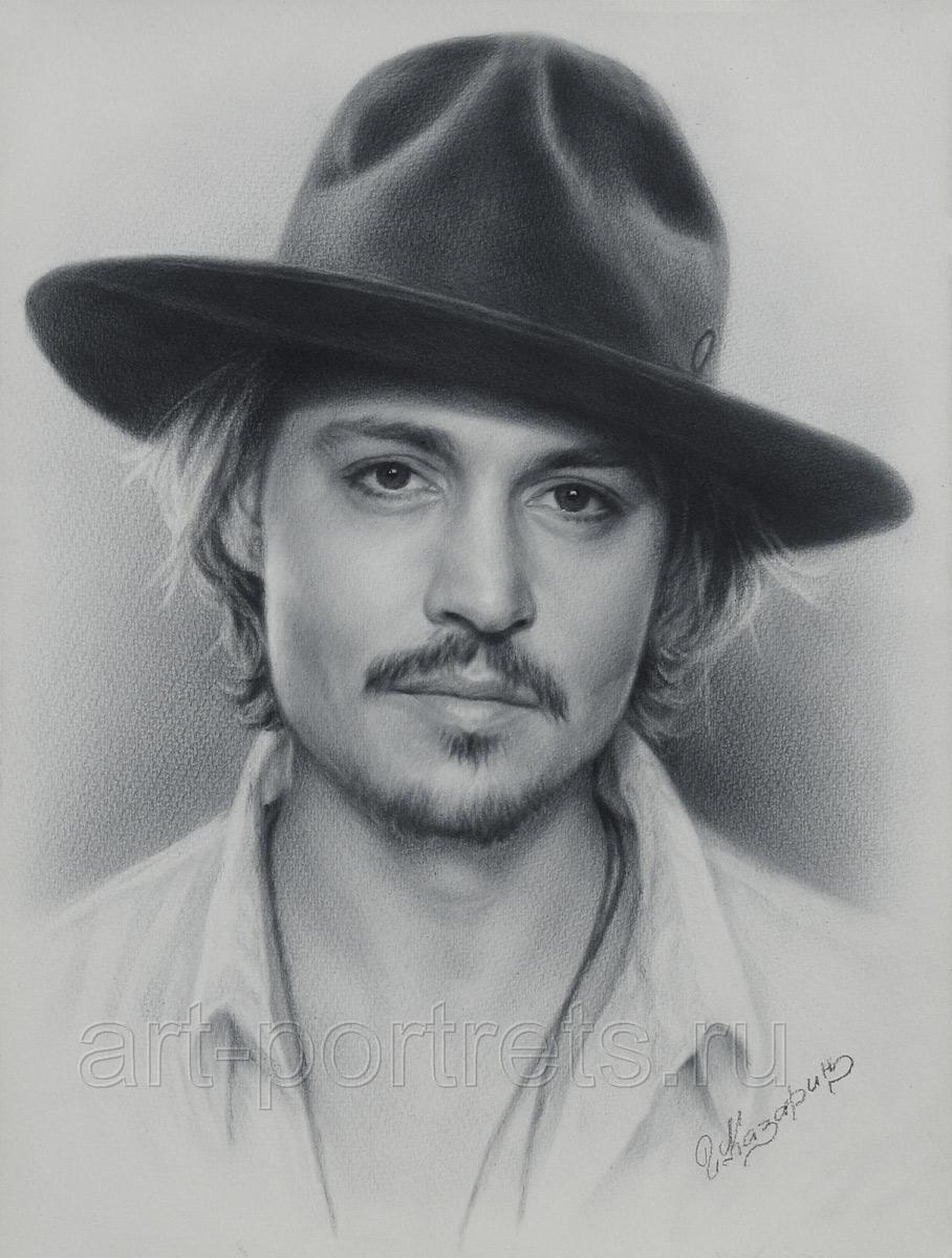 Johnny depp johnny depp portrait