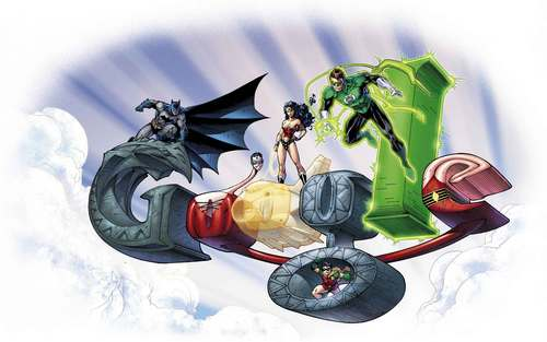 Justice League 壁紙 entitled Justice League