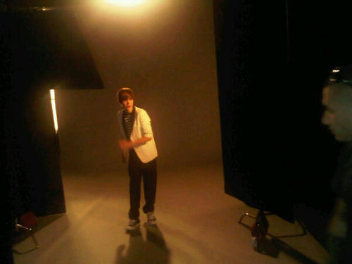 Justin PHOTOSHOOT MTV