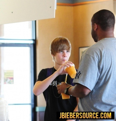 Justin in Boston Market