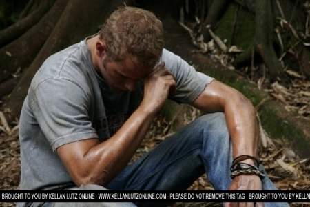 Kellan Behind the Scenes of 'the Tribe: the Forgotten Ones'
