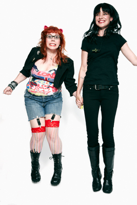 Esprits Criminels fond d'écran called Kirsten Vangsness & Pauley Perrette