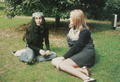 Linda and Yoko - linda-mccartney photo