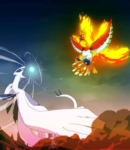 Legendary Pokemon wallpaper called Lugia & Ho-Oh