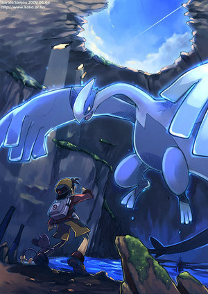 Legendary Pokemon wallpaper entitled Lugia