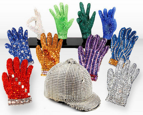 MJ's hat & Gloves