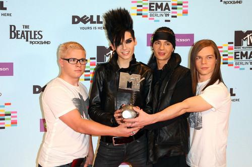 MTV Европа Музыка Awards 2009 - Backstage Boards