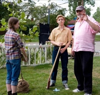 Madeline, Callan, and Dir. Rob Reiner
