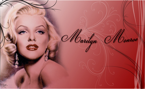 Marilyn Monroe fond d'écran called Marilyn Monroe
