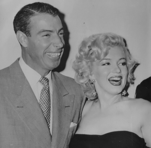 Marilyn and Joe DiMaggio