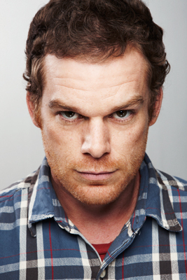 Michael C. Hall's 'Dexter' Portrait @ Comic Con 2010