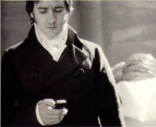 pagmamalaki at pinsala wolpeyper called Mr. Darcy - BTS - Matthew Macfadyen