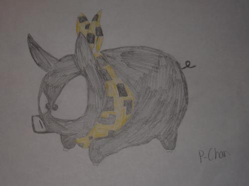 My drawing of P-Chan! 8D