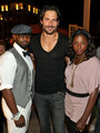 Nelsan Ellis, Joe Manganiello & Rutina Wesley - true-blood photo