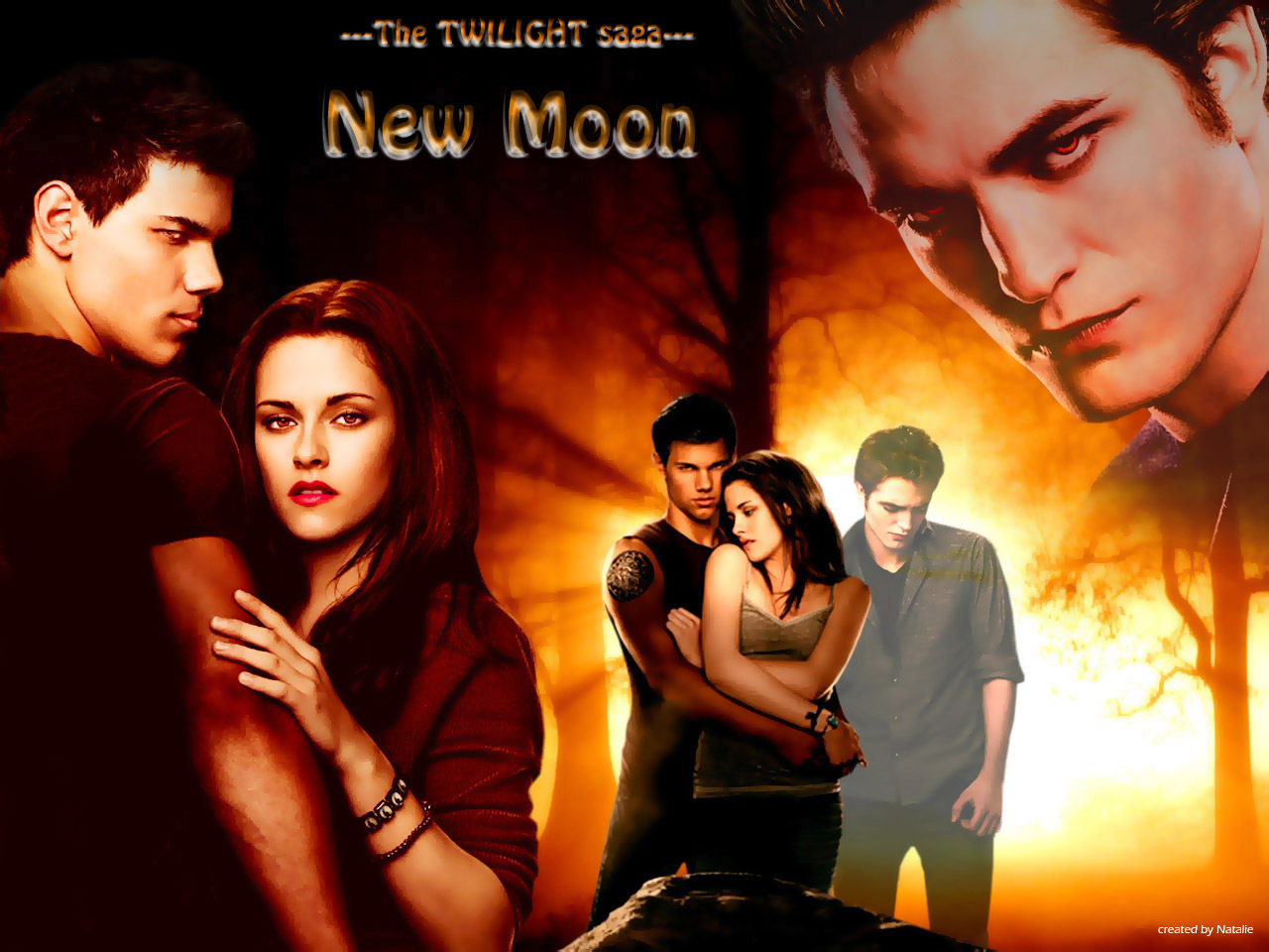 New Moon Fanarts Scenes - twilight-series wallpaper
