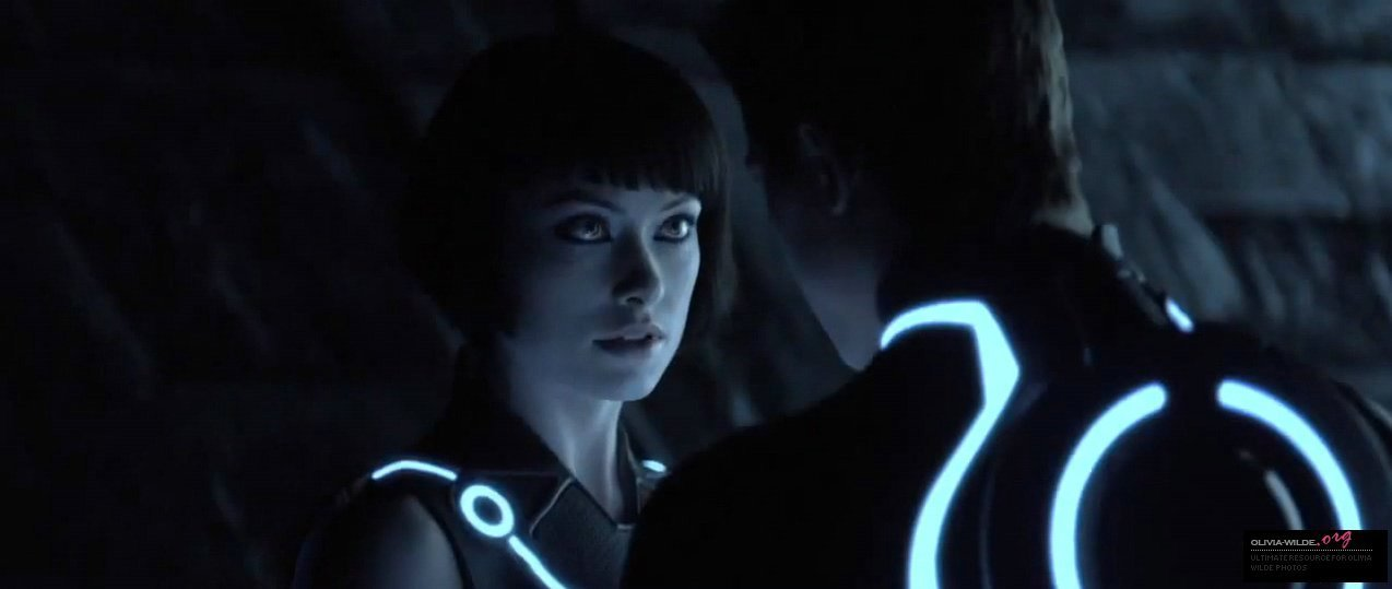 olivia wilde wallpaper tron. New-Trailer-Tron-Legacy-