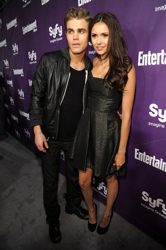 Nina & Paul @ EW and Syfy Celebrate Comic-Con