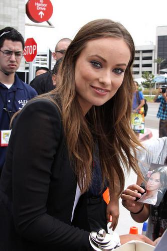 Olivia Wilde @ Comic Con 2010