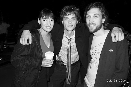 Paget Brewster and matthew gray gubler