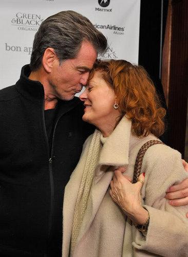 Pierce Brosnan with Susan Sarandon