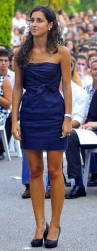 Rafa Nadal's girlfriend, Xisca Perelló, already has a degree in Business Administration.  - rafael-nadal Photo