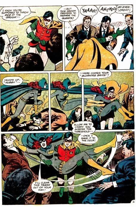 Batgirl and robin romance - photo#16