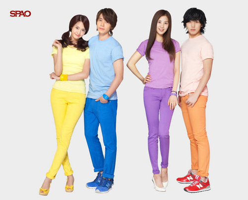 super junior fondo de pantalla called SPAO Couple