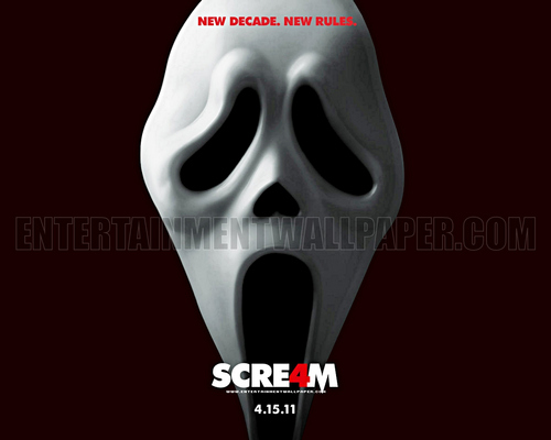 Scre4m - scream Wallpaper