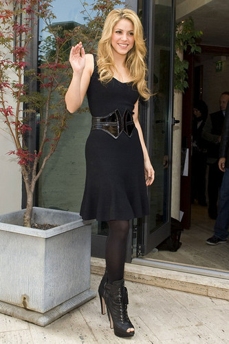 """Shakira """"She Wolf"""" Photocall"""
