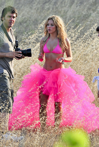 Shakira on a foto Shoot