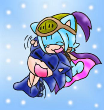 Sonica loves her bro