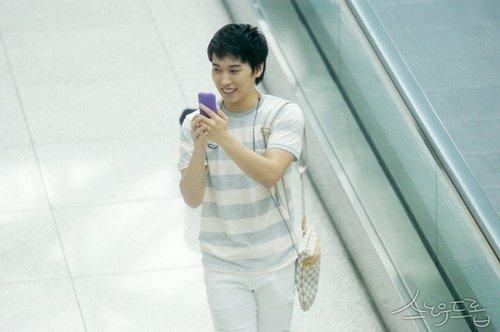 Sungmin @ Incheon Airport