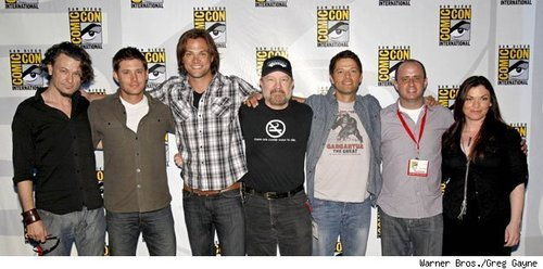 supernatural Cast at the Comic Con