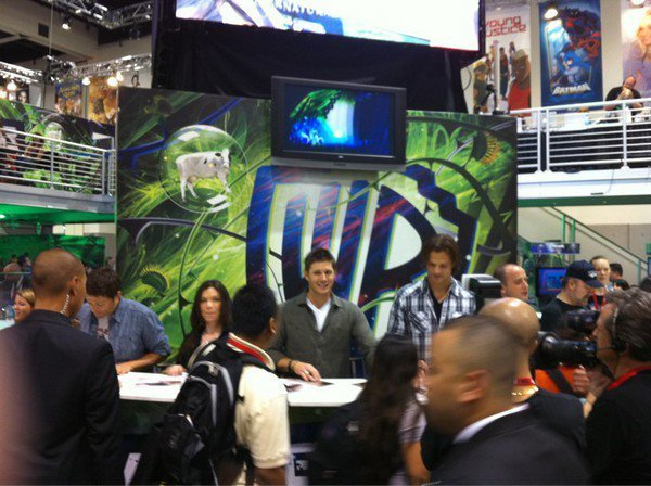 Supernatural Cast at the Comic-Con