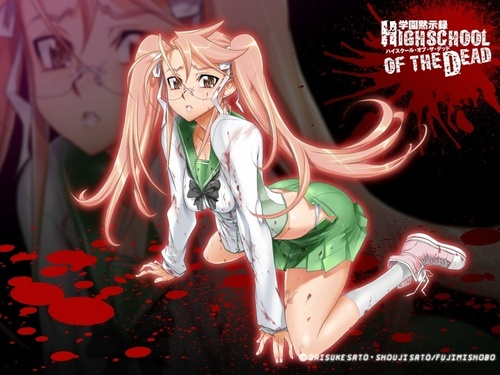 Academia Apocalipse - Colegial dos Mortos wallpaper called Takagi Saya