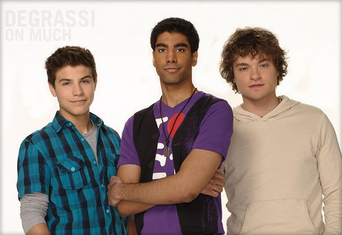 The Upperclassmen boys