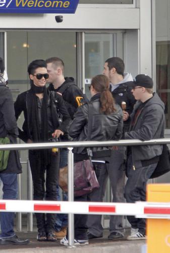 Tokio Hotel Members at the Nice Airport