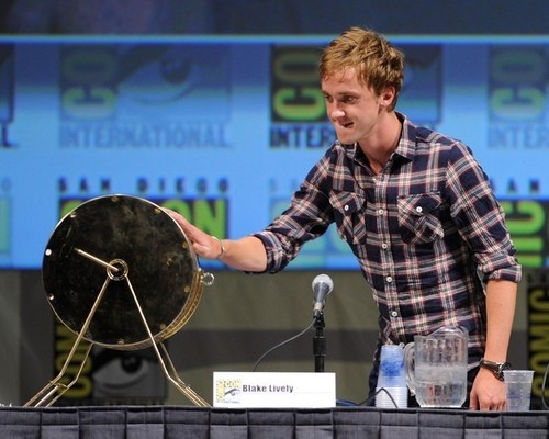 Tom Felton at Comic Con