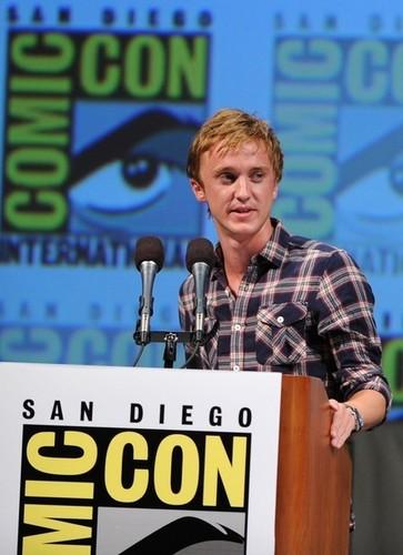 Tom Felton at Comic Con