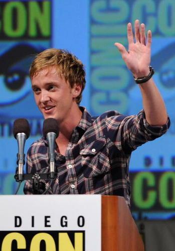 Tom Flton at Comic Con